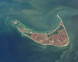 Nantucket Aerial View Courtesy NASA